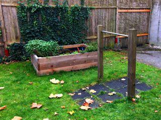 Foto eines Gartenbereiches