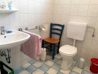 Foto von der barrierefreien Toilette