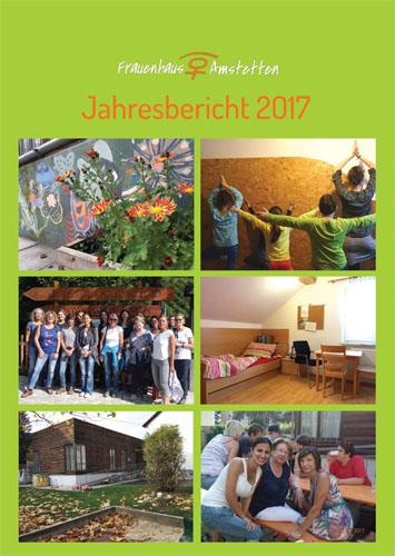 Erste Seite Jahresbericht 2017 Frauenhaus Amstetten